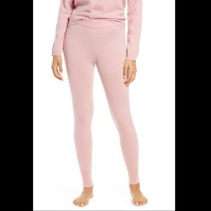 💕100% Cashmere NWT Rachel Parcell Pink Leggings